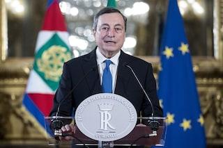 Sondaggi elettorali, cresce la fiducia nel governo e in Draghi: è leader più apprezzato da italiani