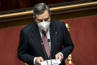 Il piano Draghi per la scuola: cosa ha detto il presidente del Consiglio al Senato