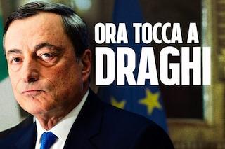 """Governo Draghi, giuramento dei ministri e primo Cdm: esecutivo in carica. Conte lascia Chigi: """"Nessun rammarico"""""""