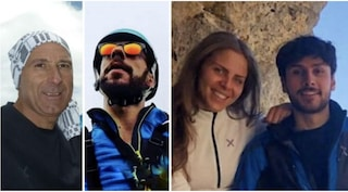 Tonino, GianMauro, Gianmarco e Valeria: chi sono i 4 escursionisti trovati morti sul Monte Velino