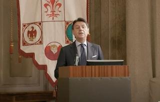 """Conte punge Salvini nella sua lezione universitaria: """"L'europeismo non è una moda"""""""