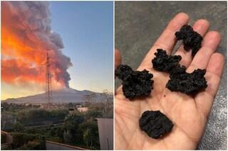 Catania si risveglia ricoperta di cenere e lapilli dopo la spettacolare eruzione dell'Etna