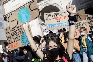 """Fridays for Future a Fanpage: """"Clima? Serve cambiamento radicale. Draghi ci ascolti su transizione"""""""