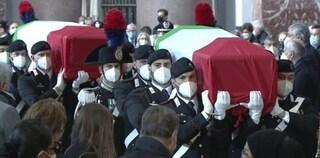 """Funerali di Stato per Attanasio e Iacovacci: """"Dolore delle famiglie condiviso da due Paesi"""""""