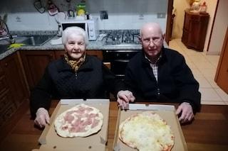 Livia e Ivo festeggiano San Valentino a 90 anni, dopo essere sopravvissuti al Covid