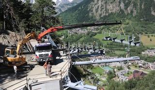 Aosta, dramma durante lavori sulla Statale: operaio cade nell'orrido di Prè-Saint-Didier e muore