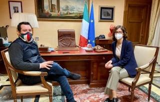 Governo Draghi, Salvini incontra vertici FI in vista del discorso del presidente del Consiglio
