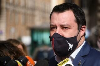 """L'appello di Salvini a Draghi: """"Torniamo alla vita, programmiamo riaperture partendo da scuola"""""""
