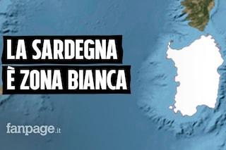 La Sardegna è la prima regione d'Italia a passare in zona bianca: cosa succede ora
