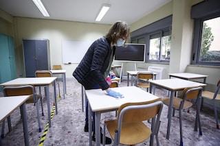 Scuola: il nuovo Dpcm prevede lezioni in presenza per elementari e medie: almeno 50% per le superiori