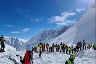 Dispersi sul Monte Velino, recuperati quattro corpi degli escursionisti travolti dalla valanga