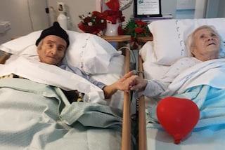 Terni, Alba e Felice hanno sconfitto il Coronavirus e ora festeggiano 79 anni di matrimonio