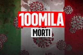 In Italia superati i 100mila morti Covid: è il primo Paese Ue a raggiungere questa cifra