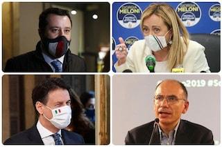 Sondaggi elettorali: Fratelli d'Italia è in testa da solo, inseguono Lega, Pd e Movimento 5 Stelle
