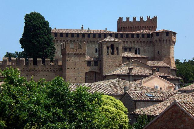 La fortezza di Gradara, il Castello di Paolo e Francesca