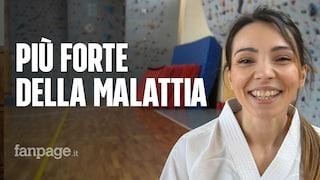 """La forza di Lisa, affetta da sclerosi multipla: """"Sono un'atleta e la malattia non mi fermerà"""""""