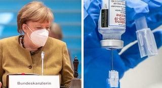 """Vaccino AstraZeneca, in Germania solo a over 60. Merkel: """"Seguiamo raccomandazioni esperti"""""""