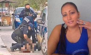 Poliziotti le spezzano le vertebre del collo con il ginocchio: Victoria muore come George Floyd