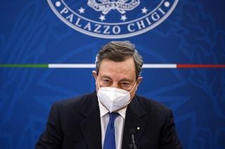 """Draghi: """"Con che coscienza un giovane salta la lista e si vaccina?"""""""