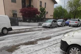 Violenta grandinata nel Veronese: strade bloccate e danni alle colture. Allerta meteo nel weekend