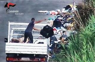 Bruciavano eternit e avevano trasformato Gioia Tauro in una città-discarica: 5 arresti, 90 indagati