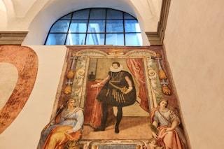 Sorpresa agli Uffizi, durante i lavori di restauro spuntano due affreschi perduti del Seicento