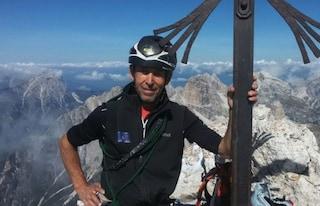 Lutto nel soccorso alpino, morto Ferruccio Svaluto Moreolo: caduto durante un'escursione
