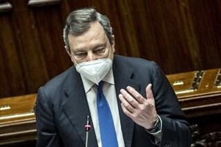 """Draghi presenta il suo Pnrr da 248 miliardi: """"Ho fiducia negli italiani, cambieranno il Paese"""""""