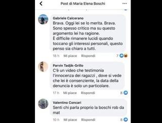 """La moglie di Beppe Grillo a Boschi: """"Video testimonia innocenza mio figlio, ragazza consenziente"""""""