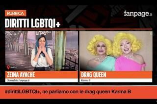 """Diritti LGBTQIA+, le Drag Queen Karma B: """"Serve tutela per le persone soggette a violenza"""""""