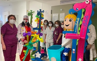Draghetti portaflebo per i bimbi meno fortunati in ospedale: a Foggia arriva Babalù