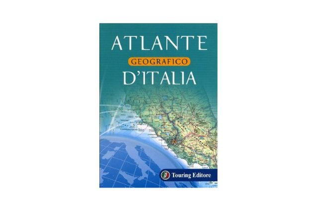 atlante geografico italia