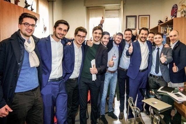 """Gli uomini dello staff della """"Bestia"""" di Salvini"""