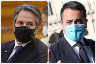 """Di Maio e il segretario di Stato USA Blinken: """"Lavoriamo insieme per voltare pagina sulla pandemia"""""""
