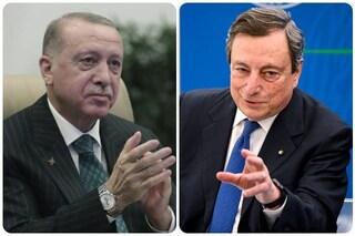 """Draghi definisce Erdogan un dittatore, Turchia convoca l'ambasciatore italiano: """"Parole gravissime"""""""