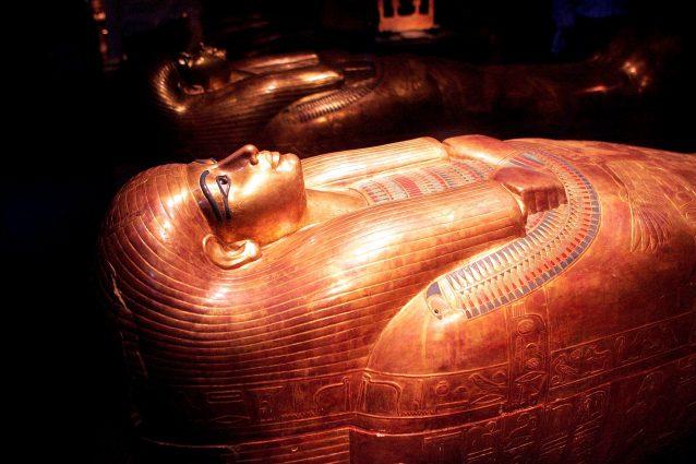 Il sarcofago di Amenhotep al museo del Cairo