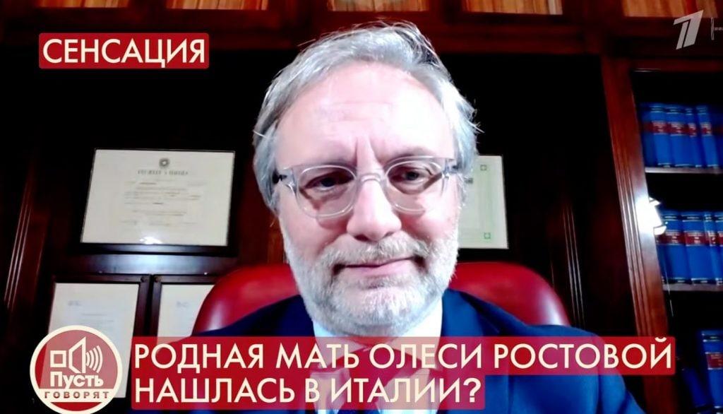 L'avvocato Frazzitta in collegamento con la tv russa