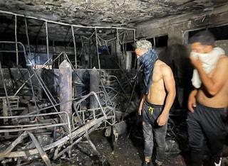 Strage in ospedale Covid a Baghdad, esplode una bombola di ossigeno: 82 morti, 110 feriti