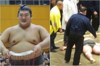 """Sbatte la testa durante un incontro, morto il lottatore di sumo Hibikiryu: """"Ritardo nei soccorsi"""""""