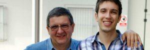 Marco Eletti con il padre Paolo Eletti