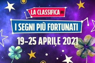 La classifica dei segni fortunati della settimana dal 19 al 25 aprile 2021: Toro e Capricorno tornano alla ribalta