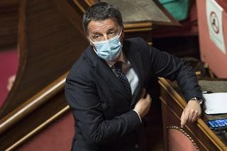 """Renzi spinge per le riaperture: """"Abolire coprifuoco la sera per tornare a teatro e al ristorante"""""""