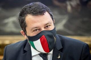 """Salvini lancia la petizione per abolire il coprifuoco: """"Da dentro il governo lo cancelleremo"""""""