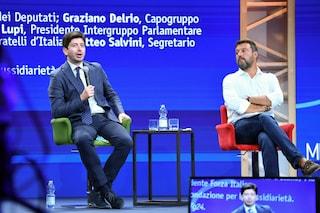 """Salvini dice che le discoteche sono chiuse perché """"vittime dell'accanimento del ministro Speranza"""""""