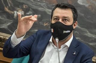 """Riaperture, Salvini: """"Con Draghi è un altro mondo, non rimpiango le perdite di tempo di Conte"""""""