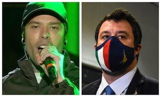 """Monologo di Fedez contro Lega, Salvini: """"Polemica interna alla sinistra, qualcuno deve dimettersi"""""""