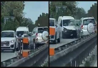 Follia sulla superstrada: anziano con l'auto in contromano, poi il terribile scontro