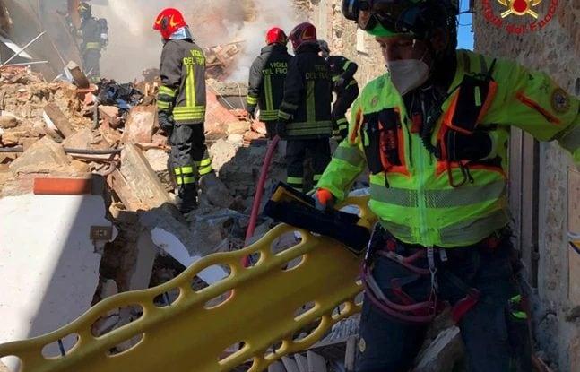 Greve in Chianti, esplosione in abitazione: due morti e una donna dispersa