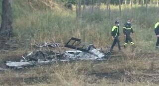 Ravenna, precipita un aereo: nuvola di fumo altissima, due morti carbonizzati