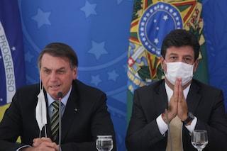 """L'ex ministro della salute di Bolsonaro: """"Ha ignorato tutti gli allarmi degli scienziati"""""""